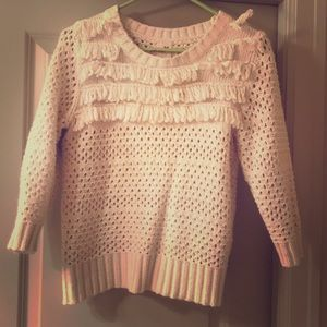 3/4 length sweater with beautiful detailing
